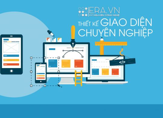 Thiết kế giao diện website mobile ios, android