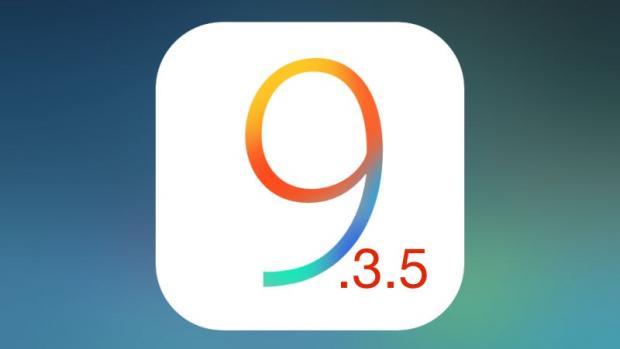 bản cập nhật iOS 9.3.5