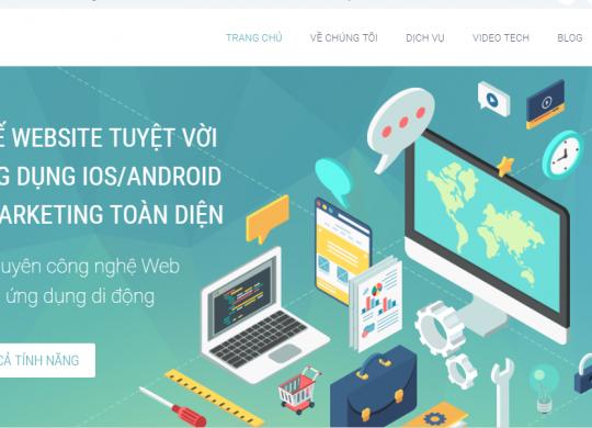 thiết kế web tại Hà Nội